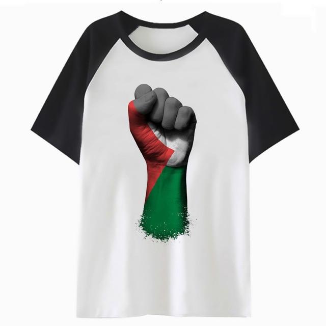 Palestina En Un Elevado Camiseta De Dibujos Animados Camiseta