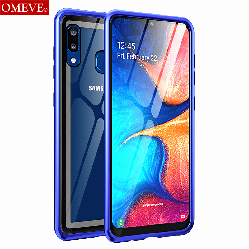 OMEVE Metal Case for Samsung A50 A30 A70 A60 A40 A20 A10 Aluminum Alloy Bumper Tempered Glass Back Cover for Samsung A 50 30 70OMEVE Metal Case for Samsung A50 A30 A70 A60 A40 A20 A10 Aluminum Alloy Bumper Tempered Glass Back Cover for Samsung A 50 30 70