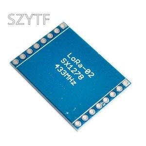 Image 2 - SX1278 LoRa Module 433M 10KM Ra 02 Ai Thinker Wireless Spread Spectrum Transmission Socket for Smart Home DIY