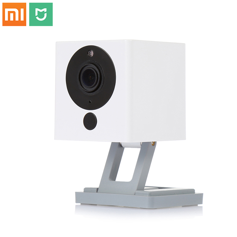 Xiaomi Mijia New xiaofang Smart Home 110 Degree 1080p HD Intelligent Security WIFI IP dafang Camera Night Vision For Mi home app kazi building blocks police station model building blocks compatible legoe city blocks diy bricks educational toys for children