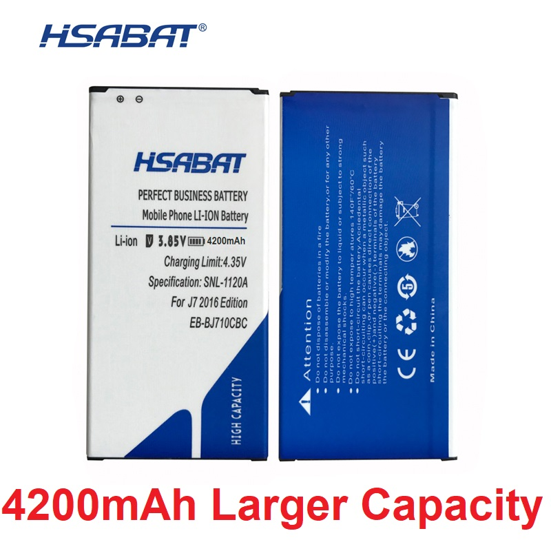 HSABAT 4200mah-Battery J710F Samsung Original For J7008