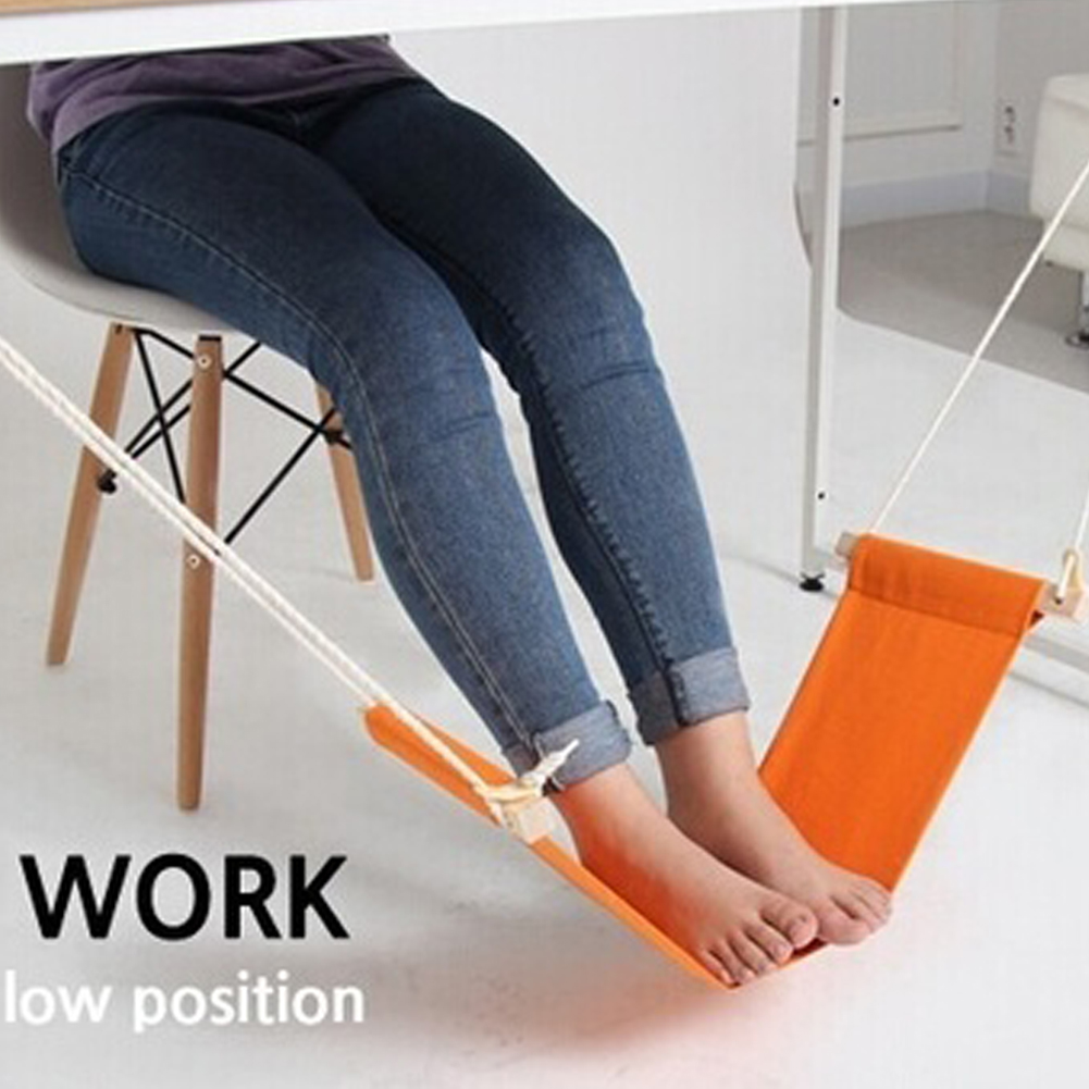 100pcs Lot Study Indoor Office Foot Rest Stand Desk Feet Hammock Easy To Disemble For Home Library 65 5 15 5cm In Hammocks From Furniture On