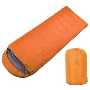 Image 1 - Pojedyncze dorosłych Camping wodoodporny garnitur przypadku kopertowy śpiwór