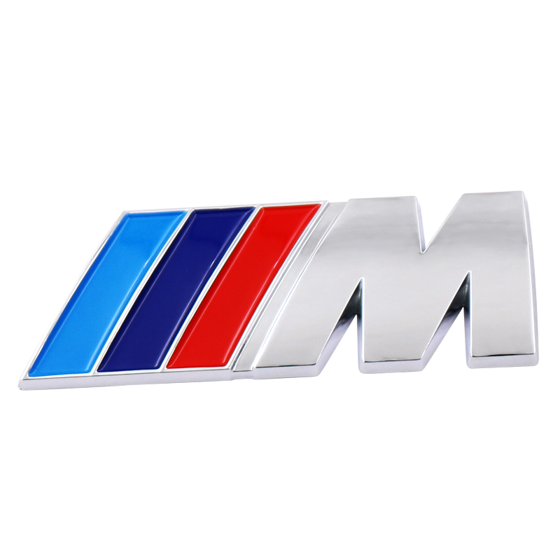 Car Logo Sticker Auto Emblem Badge Decal For Bmw M M3 M5 E46 E30 E34