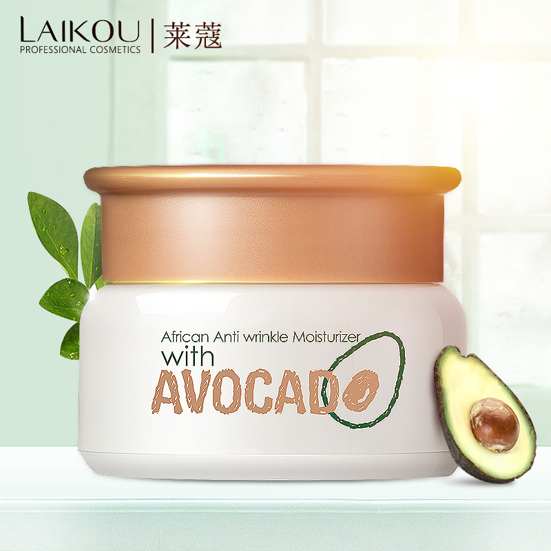 LAIKOU Avocado Day Creams Moisturizers Deep Hydration Face Cream Anti-aging Anti Wrinkles Lifting Facial Firming Skin Care