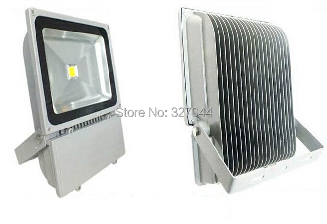 dhl free waterproof 85-265V 90w 100W LED Floodlight Outdoor Landscape street light Wash Flash light Warm white / Cold white