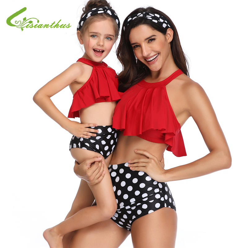 0a26d59441bfa Worldwide delivery mom and baby matching swimsuits in NaBaRa Online