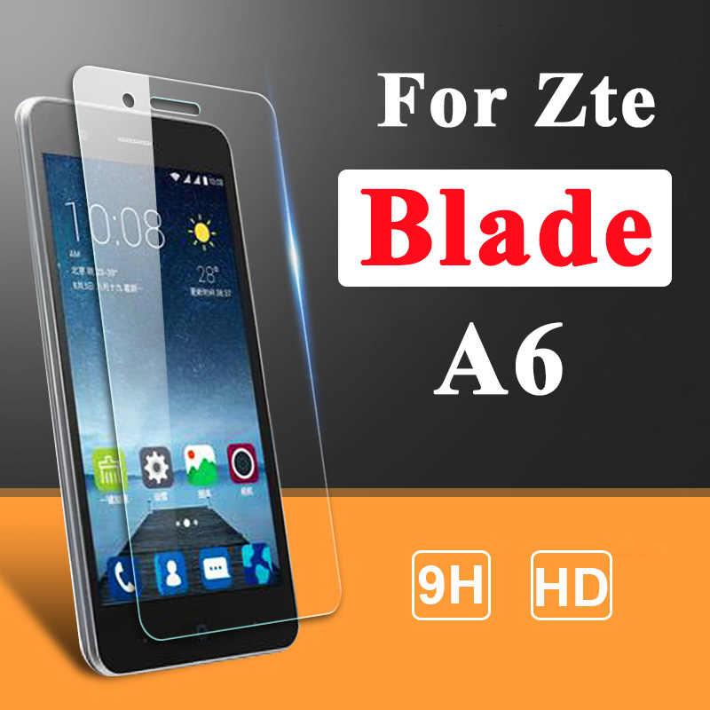 Kaca Pelindung Di untuk ZTE Blade A6 Screen Protector 6A 6 Tempered Glas Bladea6 Layar Pelindung Keselamatan Perlindungan Film Sheet