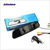 Liislee Đối Với Mercedes Benz SLK R171 Gương Chiếu Hậu Xe Monitor Màn Hình Hiển Thị/4.3 inch/HD TFT LCD NTSC PAL Màu Hệ Thống TRUY