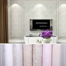 New 2019 Luxury 3D Gold non-woven wallpaper European-style Damascus wallpaper living room bedroom TV background wall european retro damascus living room tv background wallpaper embossed thickened brown non woven bedroom film and tv wall paper
