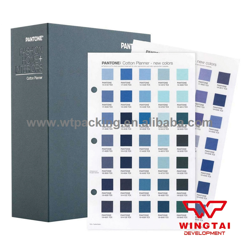 Newest PANTONE Fashion Home TCX Color Chart FHIC300 Pantone TCX color Chart Cotton Planner pantone 20th century in color hc