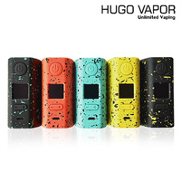 Original E cigs Hugo Vapor Rader ECO 200W Box MOD Light weight Electronic Cigarette mod by dual 18650 vs Thro Pro Vape mod
