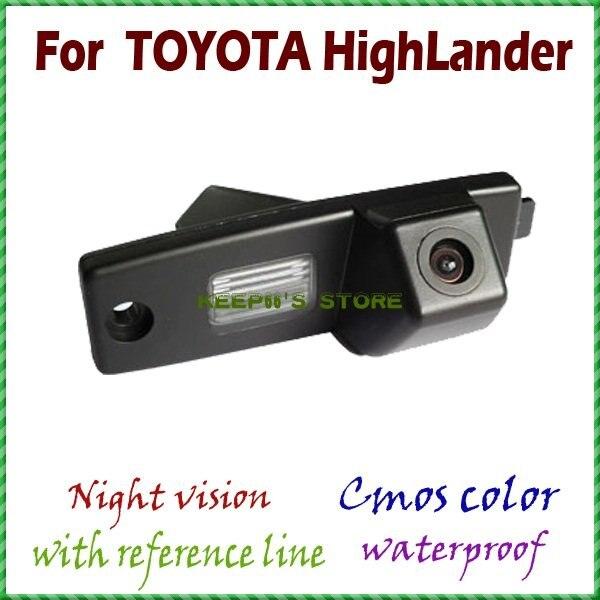 imágenes para Cámara de visión trasera que invierte el estacionamiento de copia de seguridad cámara de visión trasera para Toyota Highlander/Kluger/Lexus RX300/Toyota Hiace