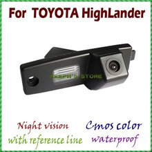 Cámara de visión trasera que invierte el estacionamiento de copia de seguridad cámara de visión trasera para Toyota Highlander/Kluger/Lexus RX300/Toyota Hiace