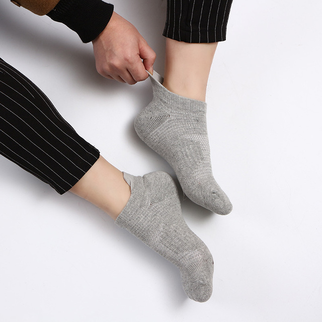 Unisex Ankle Length Sports Socks