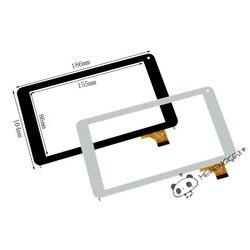 Nowy 7 cal dotykowy Digitizer szybka panelu ekranu dla FinePower N1 Tablet PC