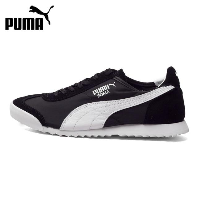 Puma Roma Slim Nylon- Black running shoes