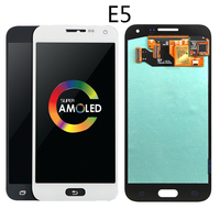 5inch OLED LCD For Samsung Galaxy E5 LCD E500 E500F E500H E500M Display with touch screen digitizer assembly