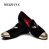 модные бархатные Лоферы для мужчин; модельные туфли без застежки с заклепками; воздухопроницаемые повседневные мараф