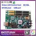 Onbon BX-5QL cartão 32*512 controlador de pixel rgb levou controlador para ao ar livre P16 P10 P8 P6 display LED rgb display led outdoor