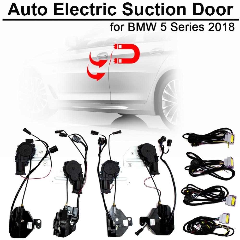 Smart Auto Electric Suction Door Lock For Bmw 5 2018 Series