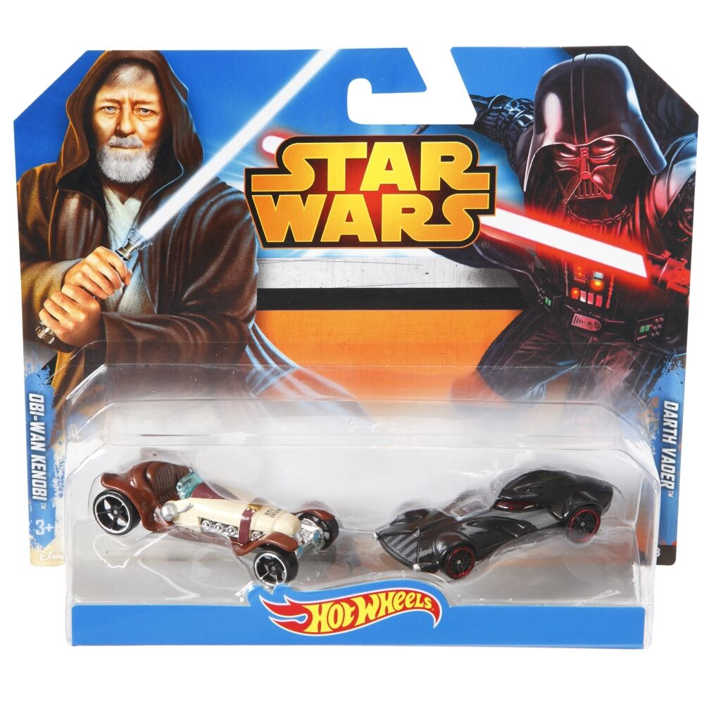 HotWheels STAR WARS OBI-WAN KENOBI &DARTH VADER/Toy/Mannequin Automobile/Car/CGX02