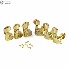 3L3R Twist Lock Electric Guitar Tuning Pegs Machine Heads Golden Color