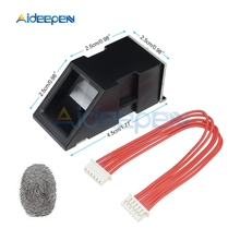FPM10A сканер отпечатков пальцев МОДУЛЬ оптический модуль распознавания отпечатков пальцев последовательный Связь Интерфейс модуль распознавания отпечатков пальцев для Arduino