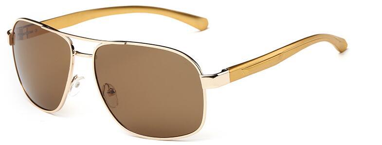 100% Wahr Mode Uv400 Pilot Jurte Sonnenbrille Männer Polarisierte Sonnenbrille Marke Logo Design Driving Brille Oculos De Sol Von Der Konsumierenden öFfentlichkeit Hoch Gelobt Und GeschäTzt Zu Werden