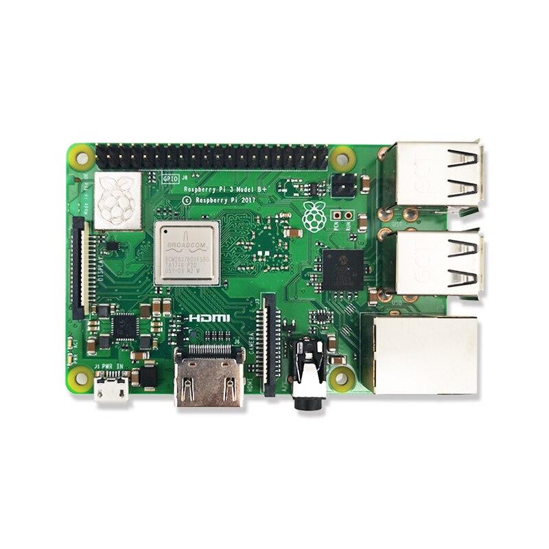 Original Raspberry Pi 3 Modelo B, Modelo B +, Raspberry Pi Raspberry Pi3 B Plus Pi 3 Pi 3B con WiFi y Bluetooth - 4