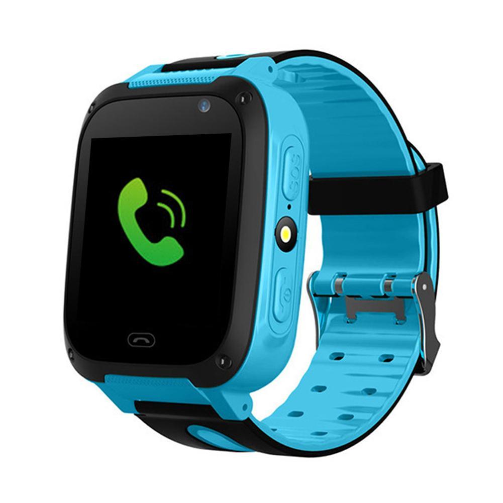Moda Casual T8 niños impermeable localizador Cámara inteligente reloj de pulsera para teléfono