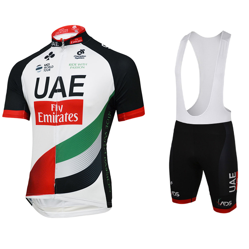 2017 uci team UAE fly Emirates cycling jersey kit summer Short sleeve quick dry cloth MTB Ropa Ciclismo Bicycle maillot GEL pad polyester summer breathable cycling jerseys pro team italia short sleeve bike clothing mtb ropa ciclismo bicycle maillot gel pad