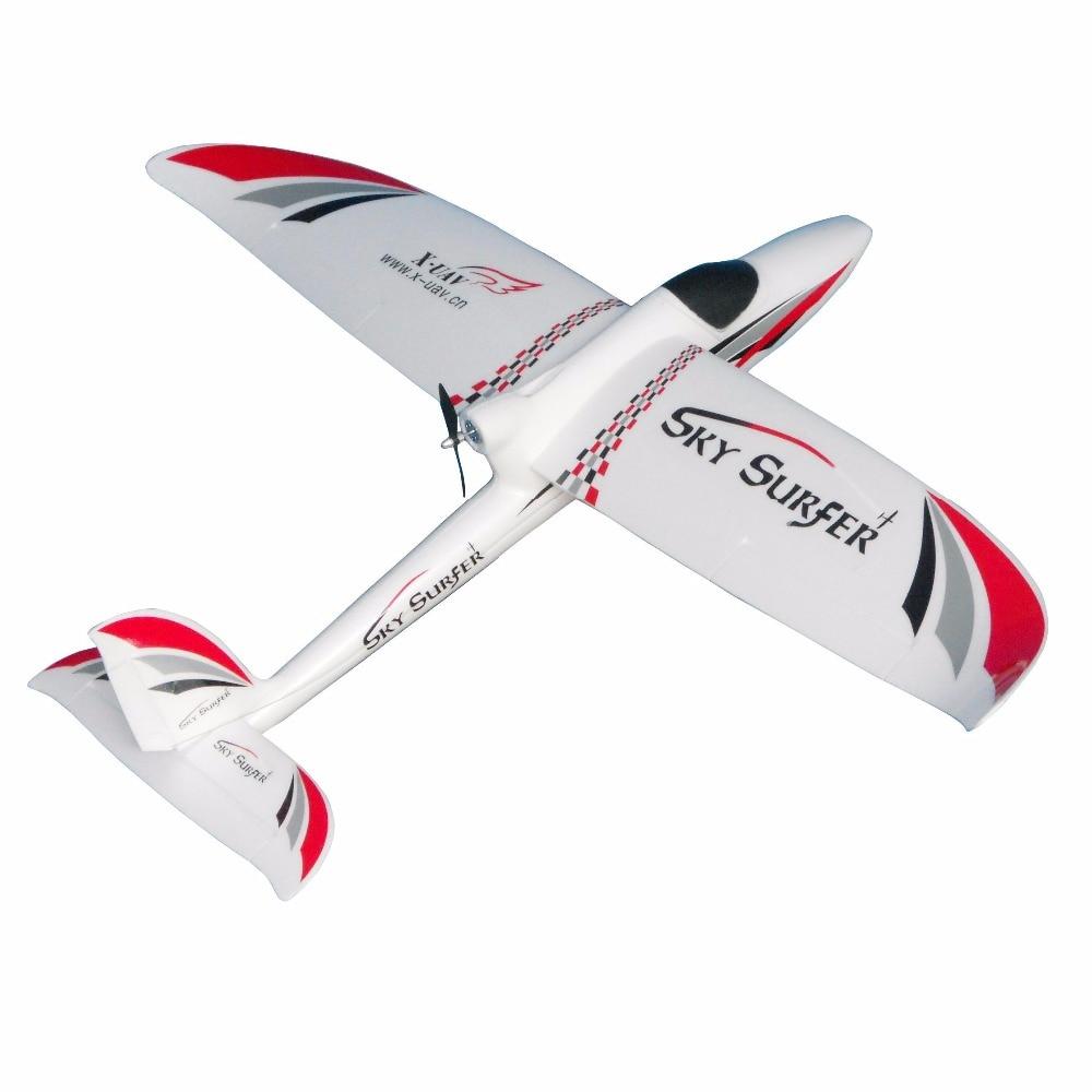 X-UAV 54in Skysurfer X8 RC самолет 1400 мм комплект летательного аппарата FPV из вспененного материала
