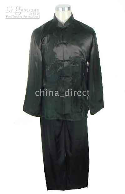Art Chinese,Tai Suit,silk uniform Tops Pants 6sets/lot Kungfu suits Martial