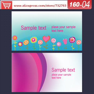 0160-04 business card template for name card templates design and print business cards