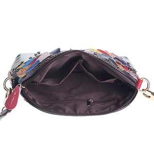 Image 4 - حقائب كتف نسائية فاخرة مصنوعة من الجلد الطبيعي حقيبة كروس الربيع حقيبة كروس حقائب نسائية لون عشوائي