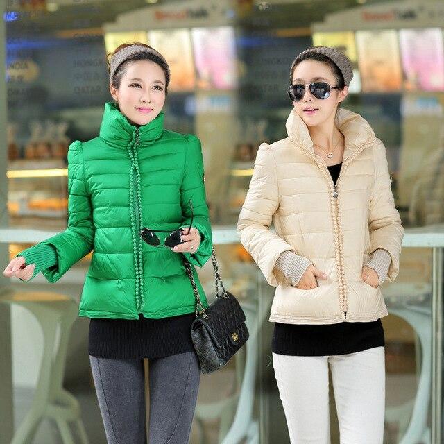 93ec956dcd5d 2014 Korea winter coat women down short style kodiak jacket A slim short  feminino fashion women winter clothing