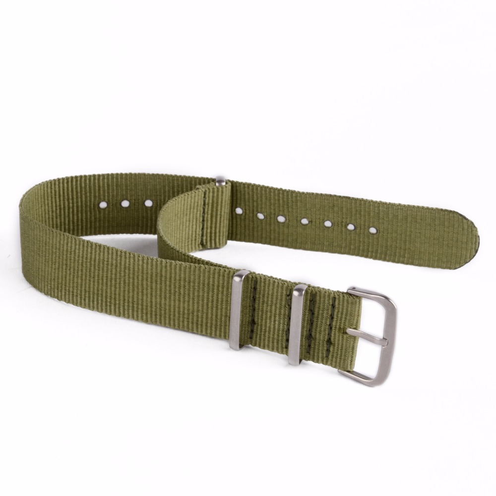 Original Luxury Causal 18mm, 20mm, 22mm Military Army Nylon Fabric - Tillbehör klockor - Foto 6