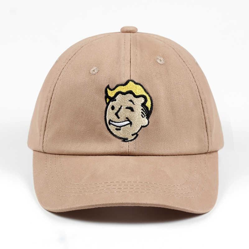 100% Cotton Pip boy Fallout 4 Baseball Cap Fallout Shelter Dad Hat Pip-Boy b18683fbf80c