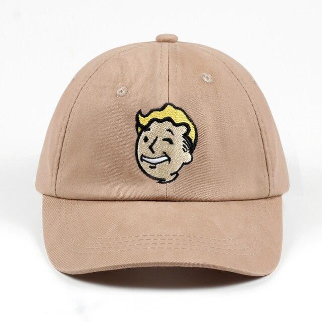 100% Cotton Pip boy Fallout 4 Baseball Cap Fallout Shelter Dad Hat Pip-Boy b106ab7b90cb