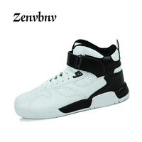 ZENVBNV 2018 New Autumn Spring British Style Men Shoes Casual Shoes Men High Tops Fashion Hip