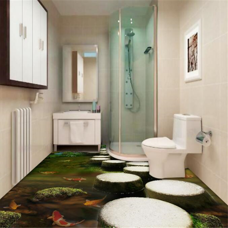 beibehang Stone pier bedroom bathroom 3d flooring tiles tiles three-dimensional painting waterproo self-adhesive papel de parede Herbal Products f4843c1c797abf1a256c88: 1 square Meteraa