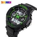 S choque 2016 marca de lujo de los hombres relojes deportivos militar del ejército led digital reloj de cuarzo relogio del reloj skmei reloj relojes