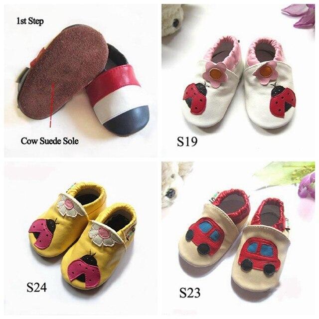 Розничная ручной кожаные ботинки мягкой подошве детские Prewalker для девочки мальчик малыш сначала уокер обувь Bebe продукты