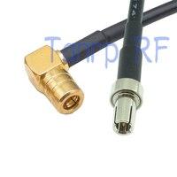 10 stücke 6in TS9 stecker auf smb-winkel hf-anschluss-adapter 15 CM Pigtail koaxial jumper RG174 verlängerungskabel kabel