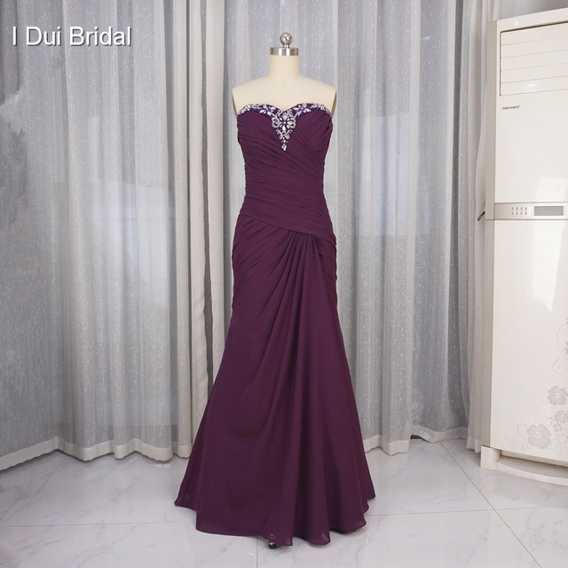 Mother of the Bride Dresses with Tulle Jacket Half Sleeve Bolero A line Chiffon Floor Length Appliqued Beaded Real Photo