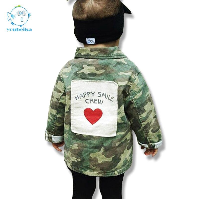 Baby Jackets For Boys Camouflage Clothing Children Jacket Boys Fashion Autumn Cotton Kids Coats Girls Jackets And Coats Spring