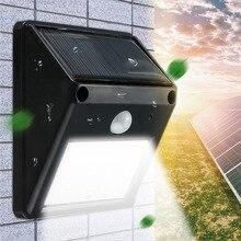 Mising Waterproof 12 LED Solar Light Solar Power PIR Motion Sensor LED Garden Light Outdoor Pathway Sense Solar Lamp Wall Light