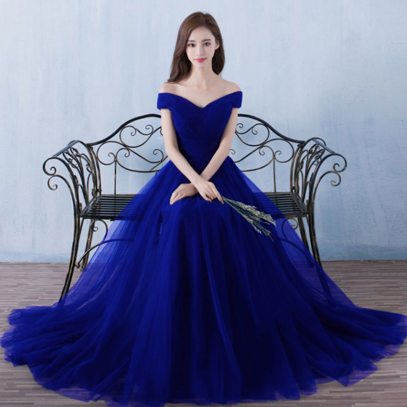 Beauty-Emily Lace   Bridesmaid     Dresses   2018 Long Vestidos Para Festa Sleeveless Floor-Length Lace up Wedding Party Girl Prom   Dress