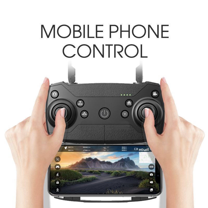 Image 3 - E511S 2.4G 4CH GPS 6 axis gyro Dynamic Follow WIFI FPV With 1080P Camera 16mins Flight Time RC Drone Quadcopter-in RC Helicopters from Toys & Hobbies